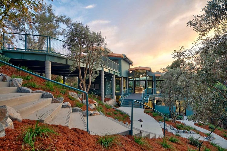 Newly-built home in Marin County, CA focuses on fire safety