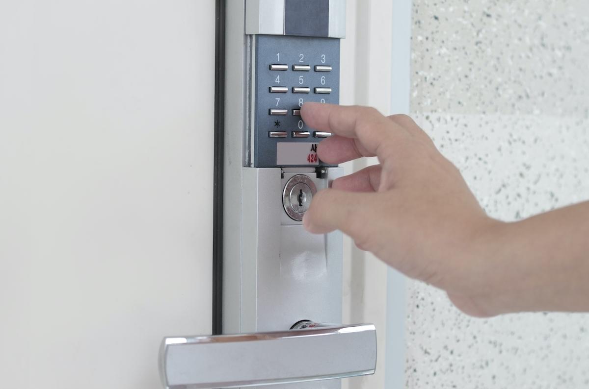 key access code