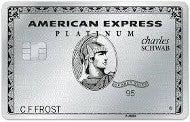 Schwab Platinum card
